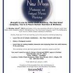 New Moon Meditation and Feelgood Martini Workshop