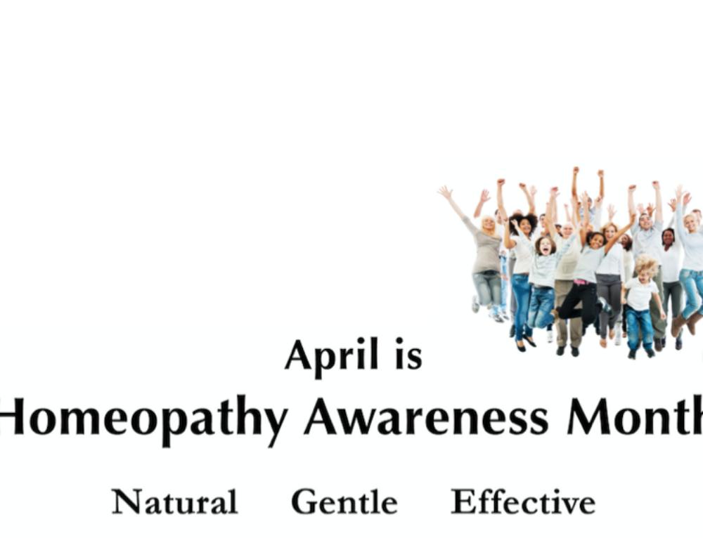 April Homeopathy Awareness Month